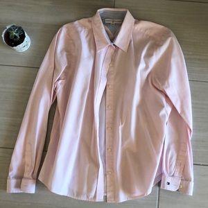 Tommy Hilfiger Pink Button Down